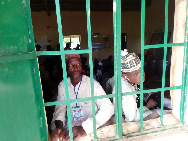 Photos of those held hostage in Lamido's polling unit