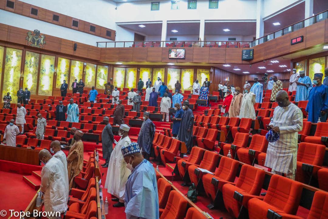 Senate plenary bill [PHOTO CREDIT: @NgrSenate ]
