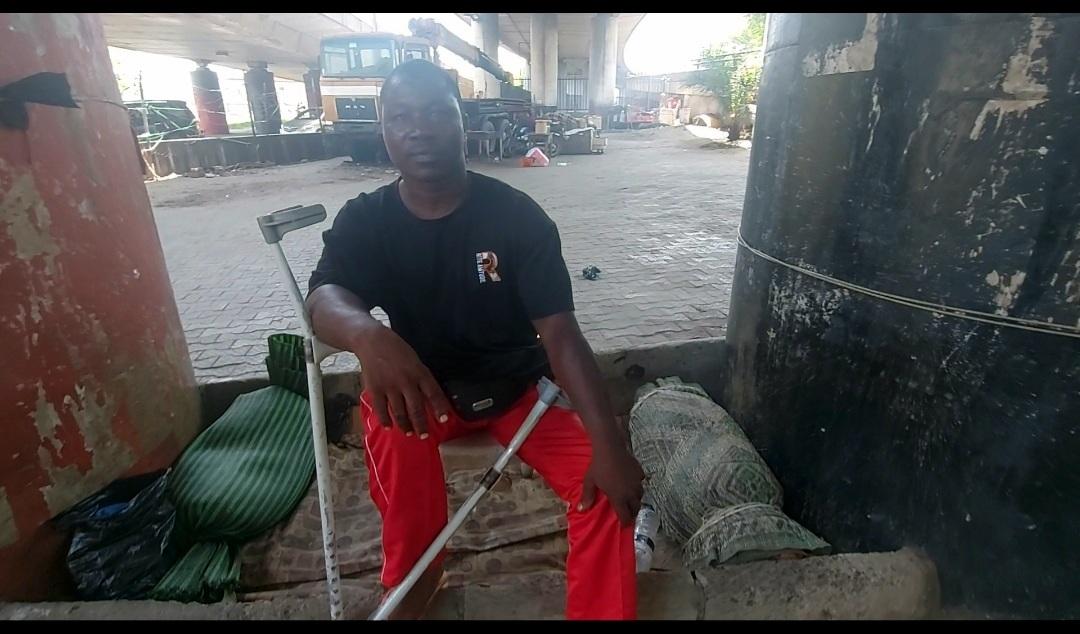 David Adamu, a bus driver at CMS - Obalende
