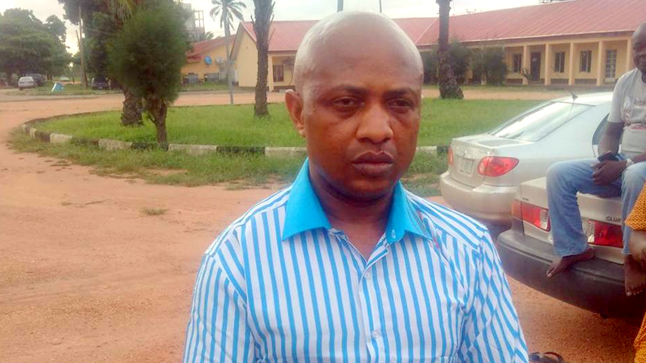 Alleged kidnap kingpin, Chukwudumeme Onwuamadike (also known as Evans).