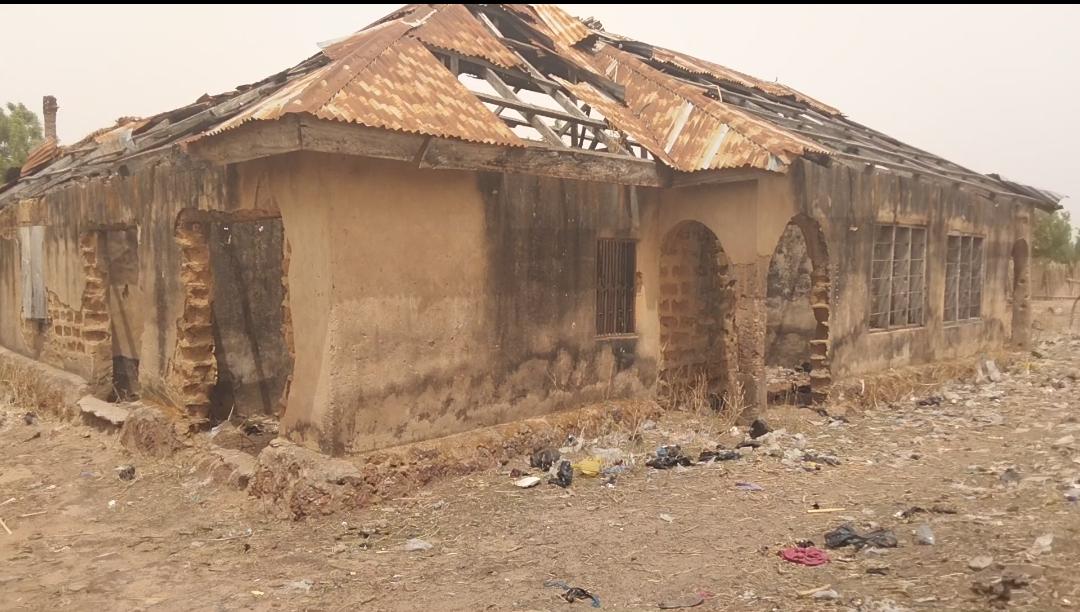 Victoria Alkali's razed house