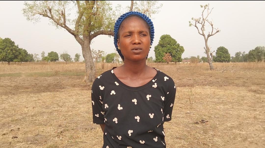 Grace Christopher, farmer in Obi LGA
