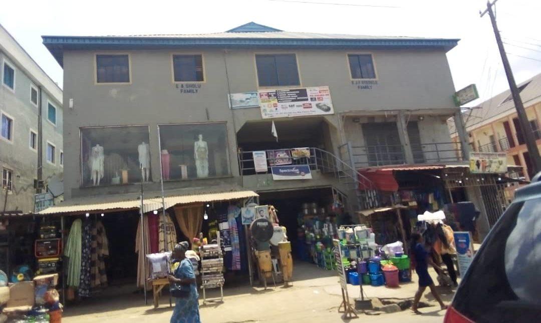 Plaza Opposite Oando, Pen Cinema, Agege, Lagos