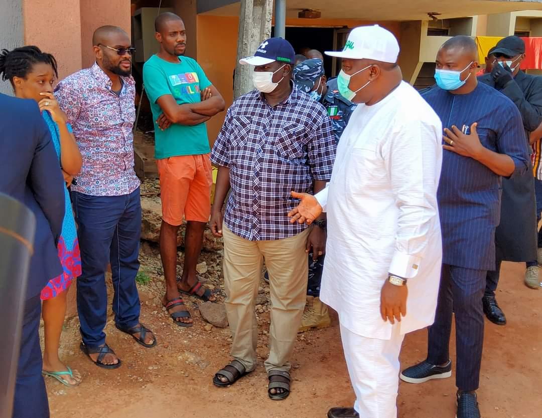Enugu governor visits survivors of fatal shooting by policeman
