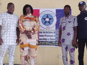Some of the Candidates of Action Alliance in the forthcoming council poll in Lagos
