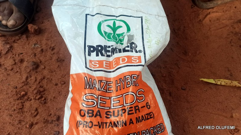 A bag of fertilizer sold for 1,500 naira