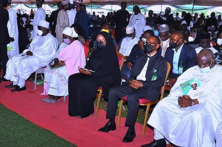 Burial session of former Deputy Governor of Kaduna State, Barnabas Bala