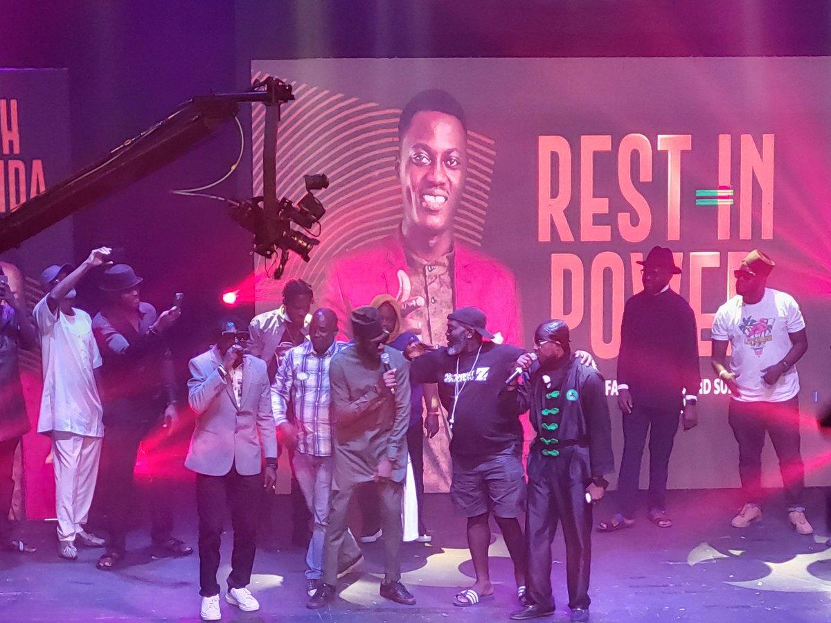 2Baba, Faze, Blackface, reunite at Sound Sultan's tribute night