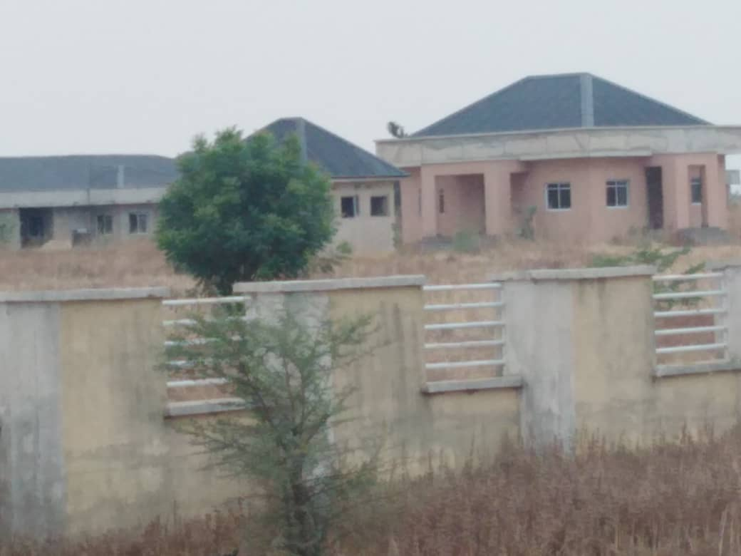 The uncompleted Hadejia Specialist Hospital