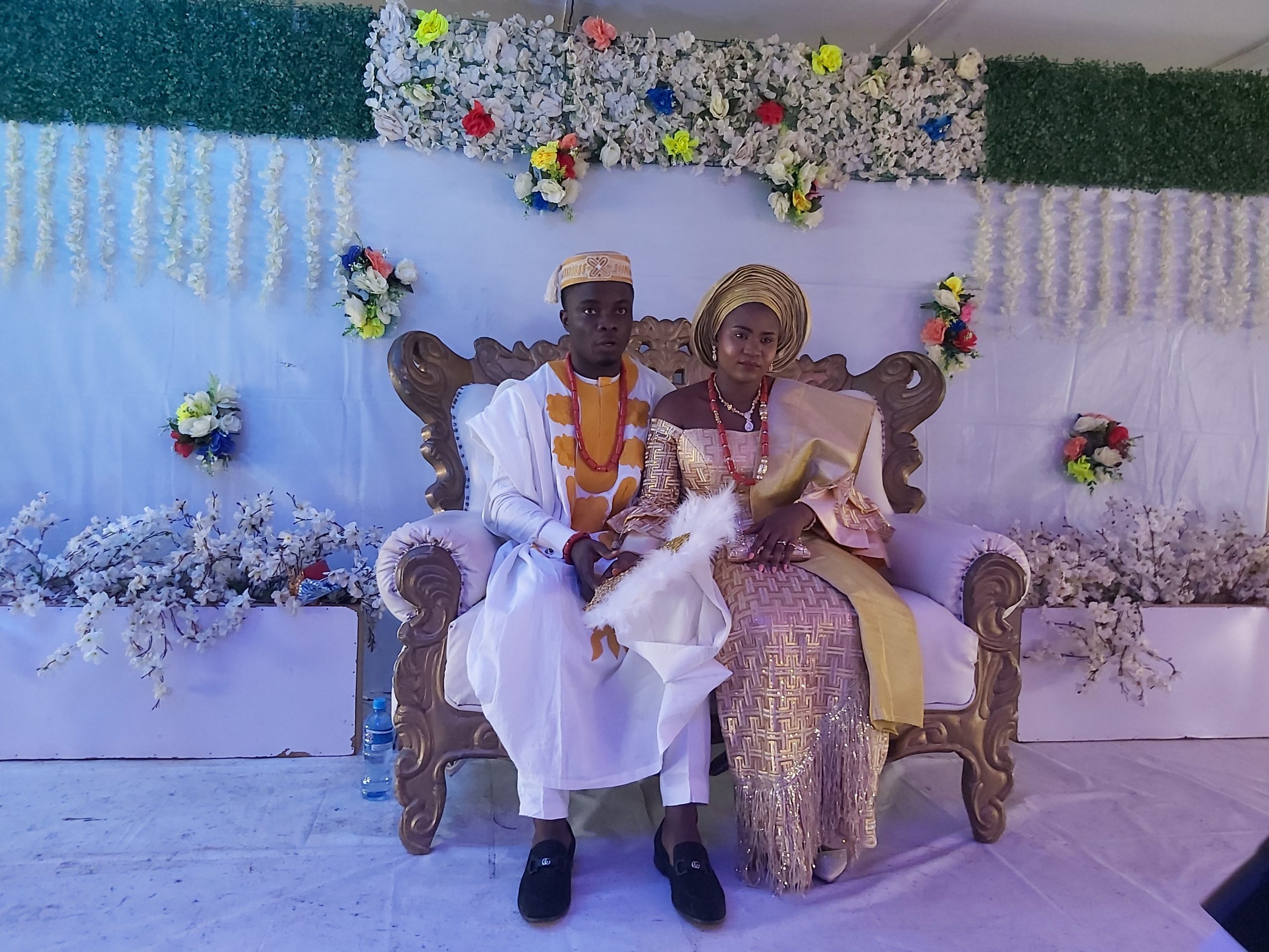 Mr and Mrs Adenekan