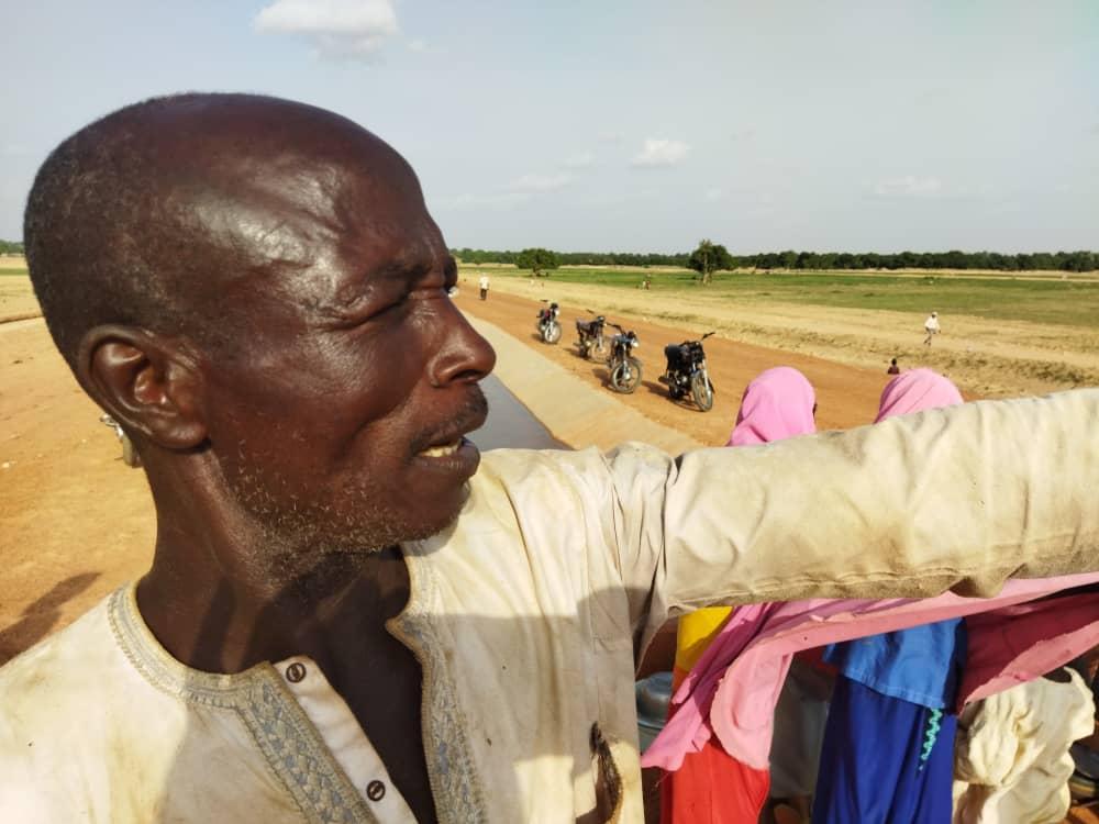 Usman Mu'azu farmer from Makoda LGA Kano State.