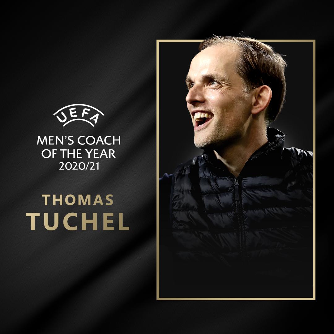 Thomas Tuchel, Men's coach of the year
