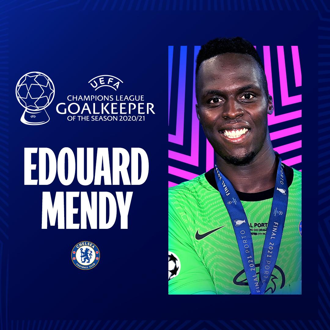 Edouard Mendy, Goalkeeper of the season