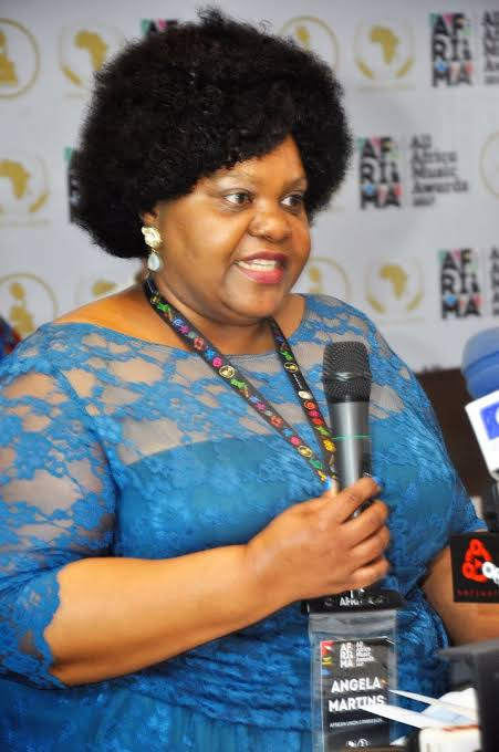 Head of Culture, African Union Commission, Angela Martins. _1
