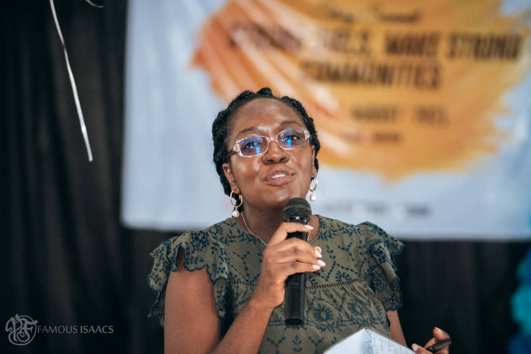 Bola Eyinade, the founder of Roving Heights Bookstore