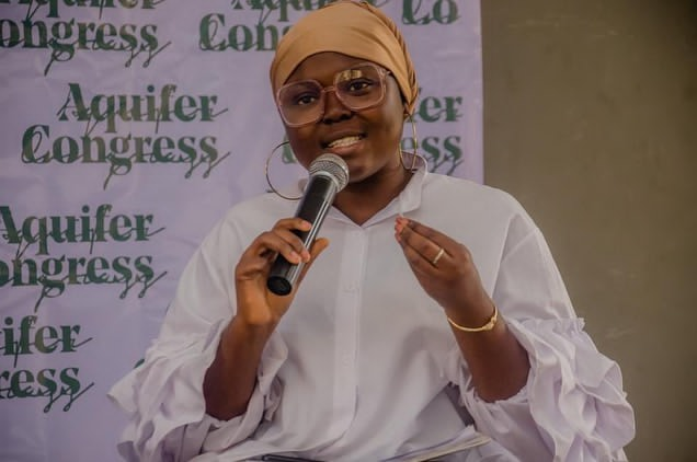 Kawthar Salaudeen said she would be using parts of her AUD5,000 prize money to empower young women.