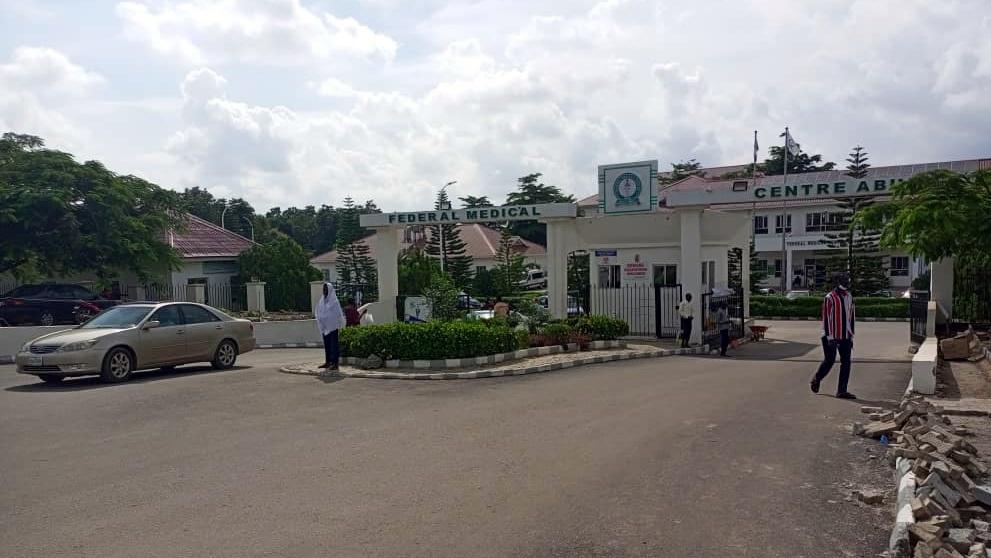 Front of FMC in Jabi, Abuja