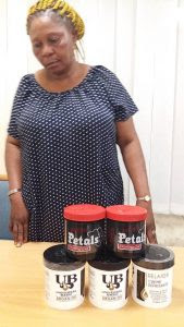 The Italy-bound woman, Mrs. Nnadi Chinyere, arrested by the NDLEA