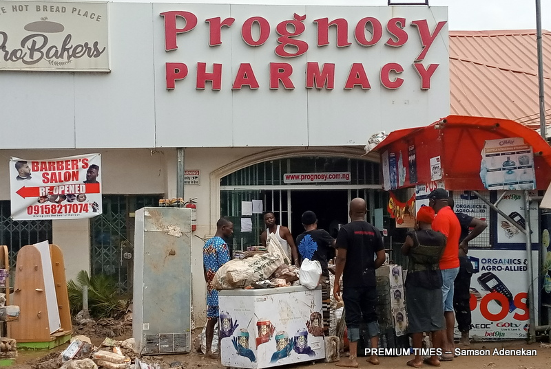 Prognosis Pharmacy is one of the businesses affected by the flood.