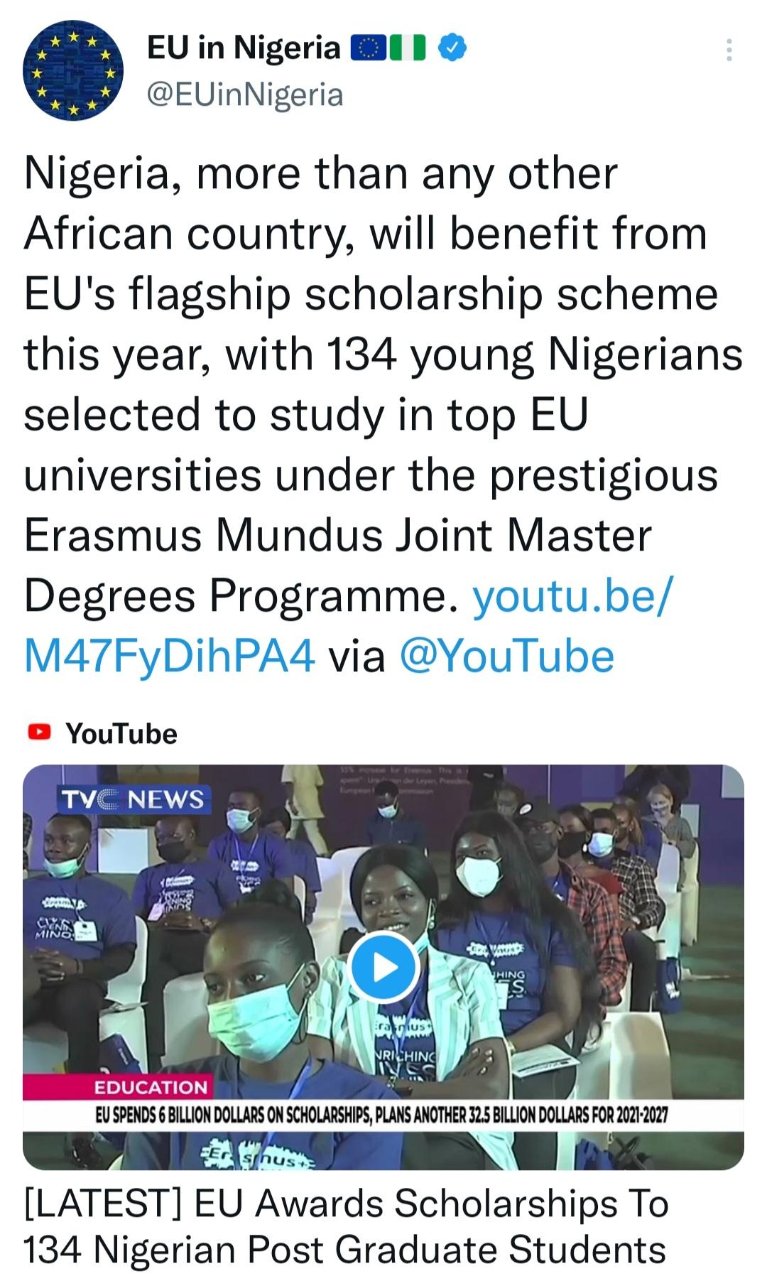 EU's partnership continues