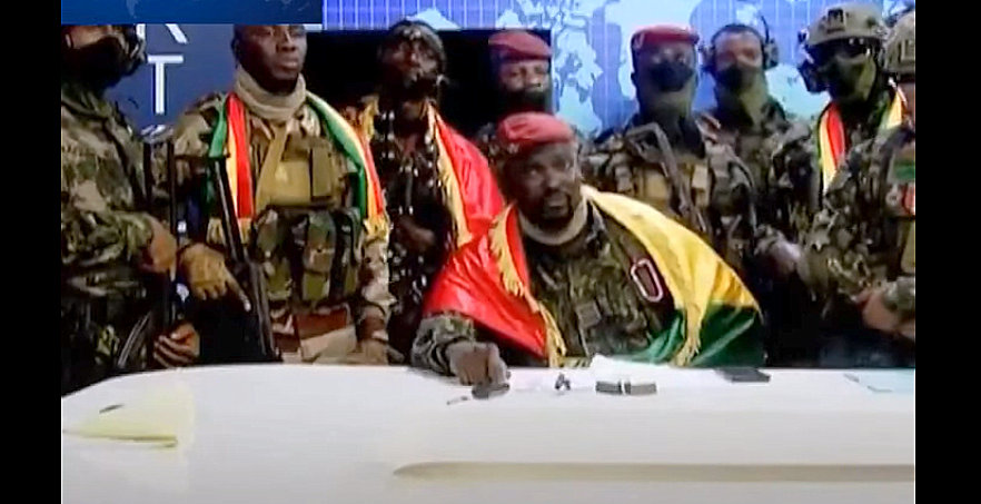 Alpha Condé in Guinea – Coup leader