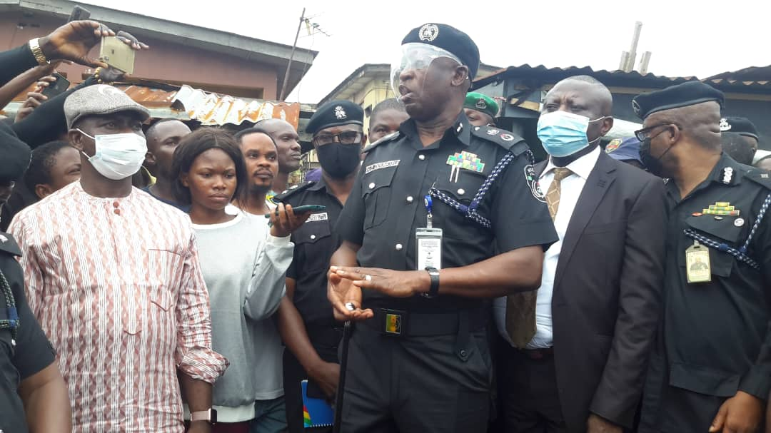 Lagos CP pays condolence visit to family of slain teenager, identifies trigger-happy cop