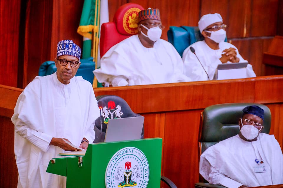 President Buhari presents 2022 Draft Appropriation Bill to the National Assembly today, 7th October 2021