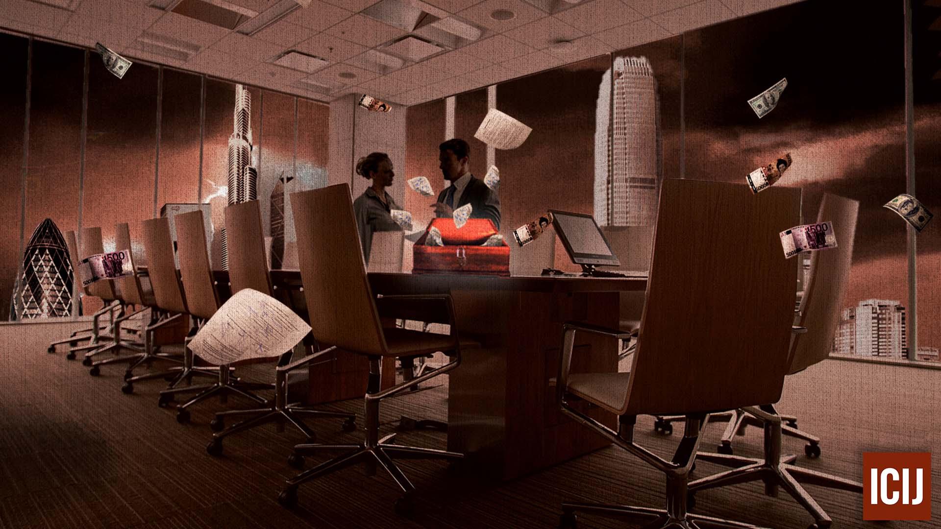 Pandora Papers. [PHOTO: ICIJ-Inkyfada-Tayma Ben Ahmed]