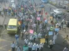 Lagos protesters