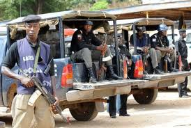Nigeria Police Patrol