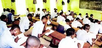 Exam in progress...  Photo Credit: National Mirror