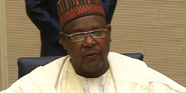 Minister of state for Finance Yerima Ngama