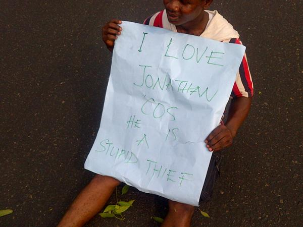 A jonathan supporter