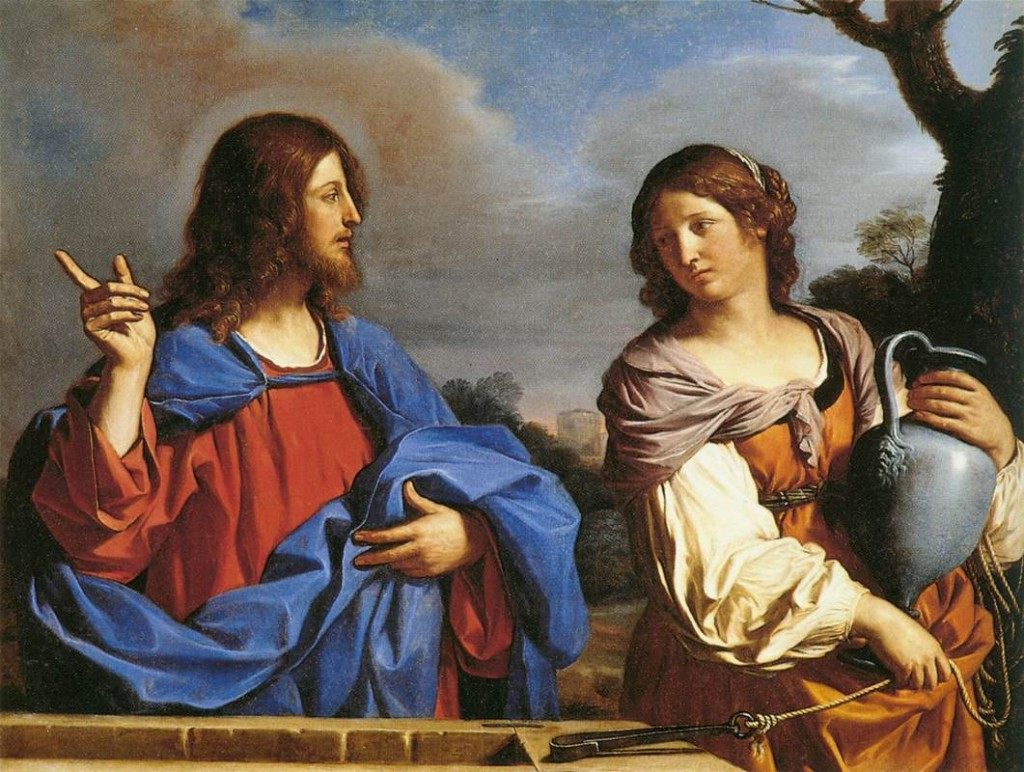 Jesus and the Smaritan Woman by Guernico