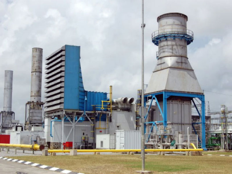 Gas-fired electricity plants