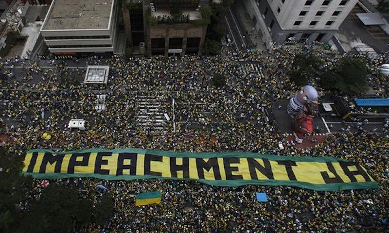 Brazil Protest 2016
