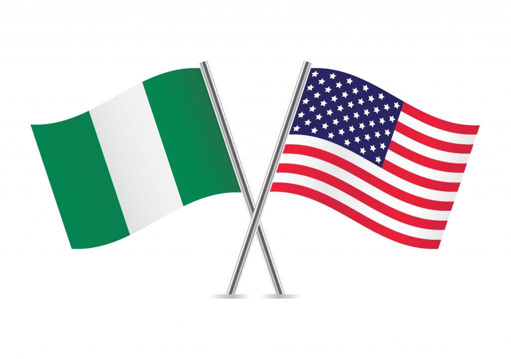 Nigeria-USA-Flags