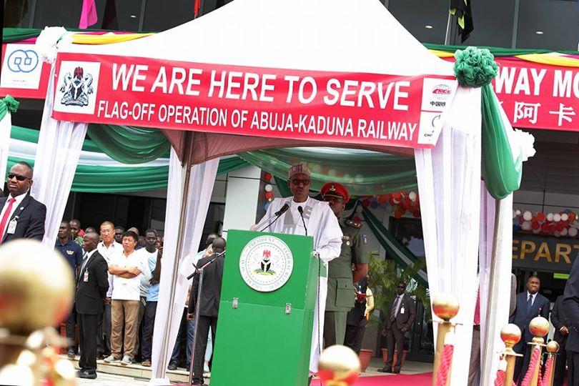 Abuja-Kaduna Railway Commissioning