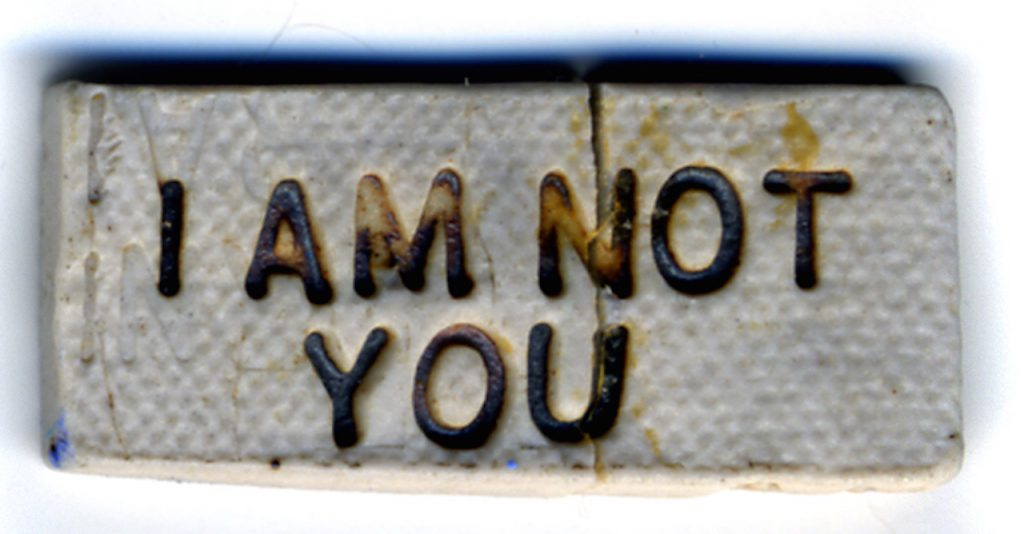I am Not You