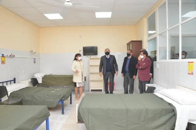 Morales abrió la licitación para el nuevo hospital de Libertador