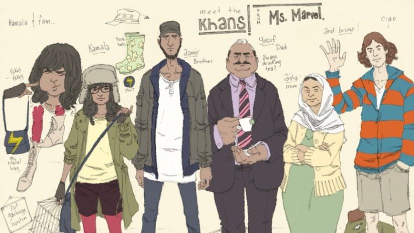 Resultado de imagen de kamala khan family