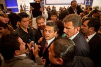 El candidato presidencial del PRI, Enrique Peña Nieto. Foto: Miguel Dimayuga