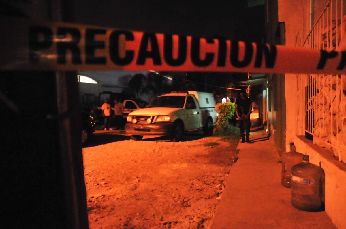 El domicilio de Regina Martínez, corresponsal de Proceso en Veracruz. Foto: Miguel Ángel Carmona