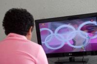 Los Juegos Olímpicos. Sin auge. Foto: Eduardo Miranda