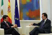 Peña y Rajoy se reúnen en España. Foto: Xinhua
