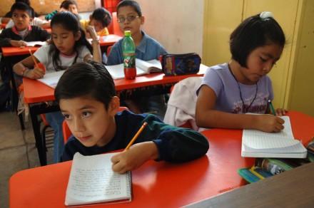 Alumnos de la escuela primaria