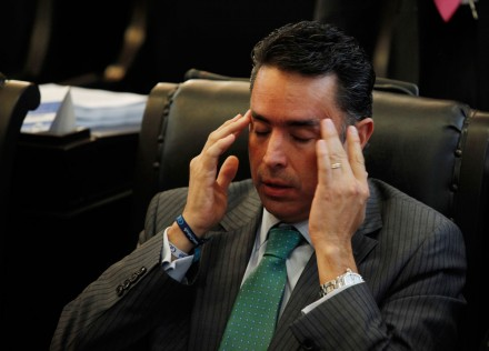 El diputado federal del PAN, Guillermo Anaya. Foto: Eduardo Miranda