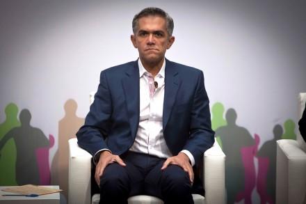 Miguel Ángel Mancera, jefe de gobierno capitalino. Foto: Germán Canseco