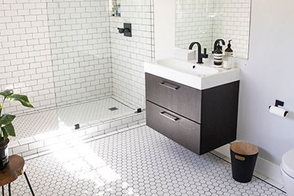 updating bathrooms on a budget which