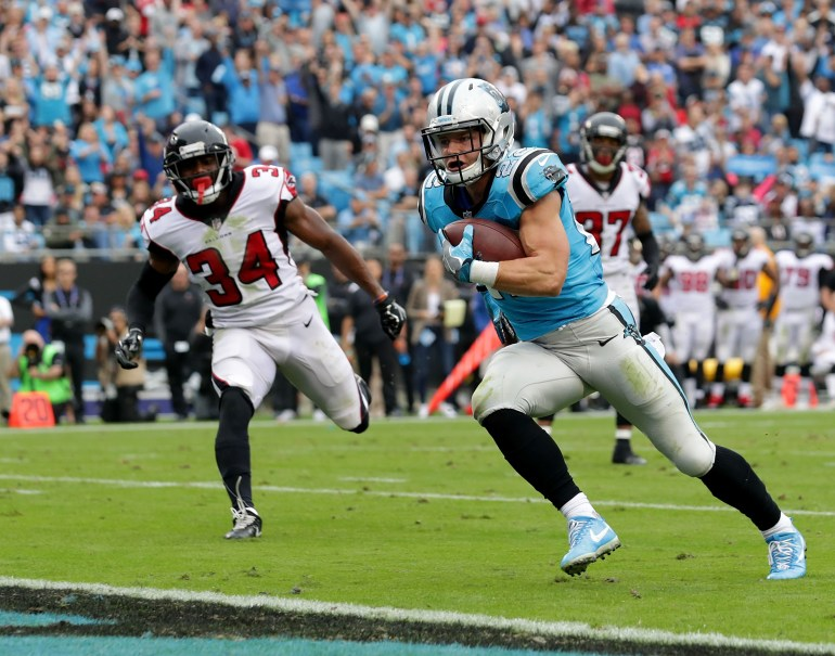 Christian McCaffrey week 9 rookie review